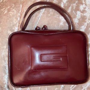 Gucci vinyl/rubber mini bag